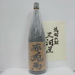 『赤兎馬・茶ラベル』一升瓶(1800ml)【芋焼酎】(25度)
